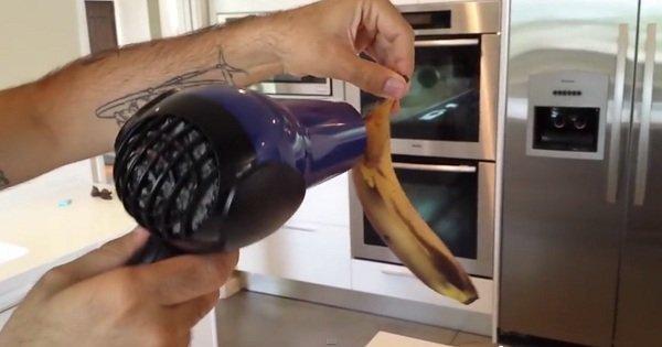 что делать с почерневшим бананом