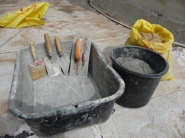 Новости PRO Ремонт - 10 советов по мелкому ремонту квартиры. Пригодятся всем, кто уже взялся за дело… раствор цемента