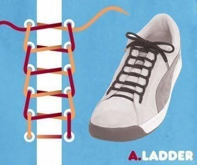 Как вязать шнурки