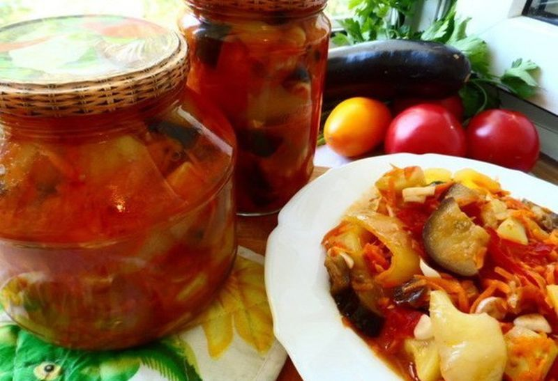 салат из кабачков