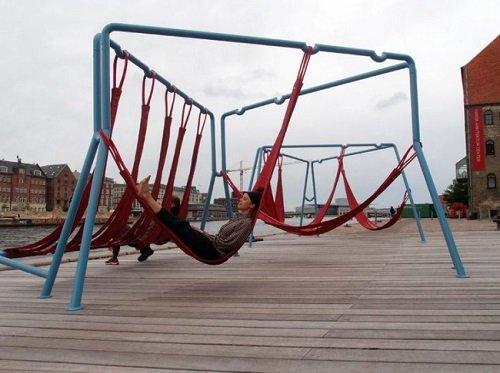 оригинальная скамейка