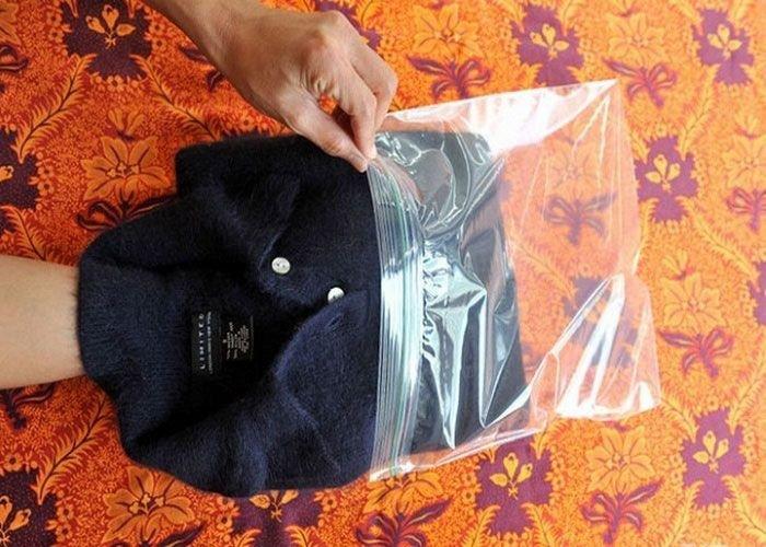 свитер в пакете