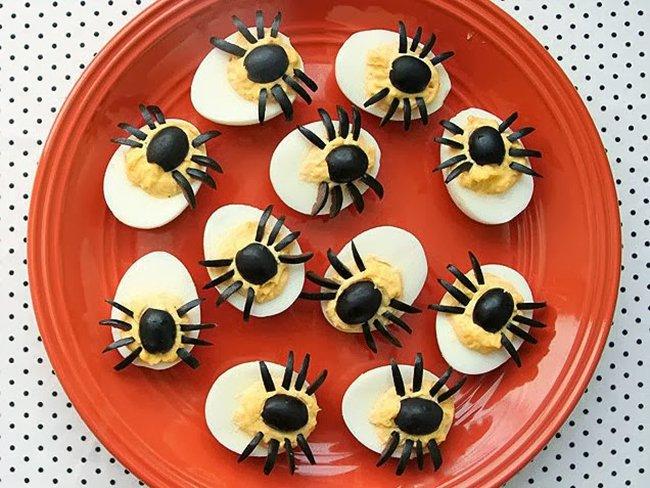 пауки из маслин