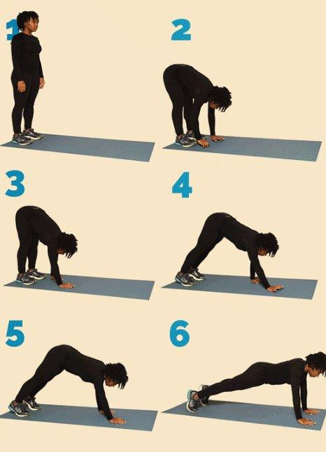 упражнение выход