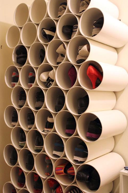 трубы для хранения обуви