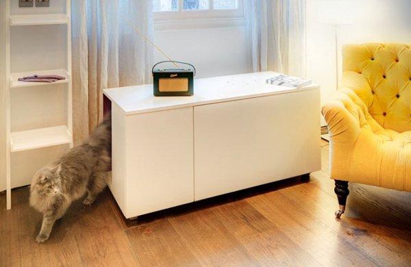 тумбочка для кошачьего туалета