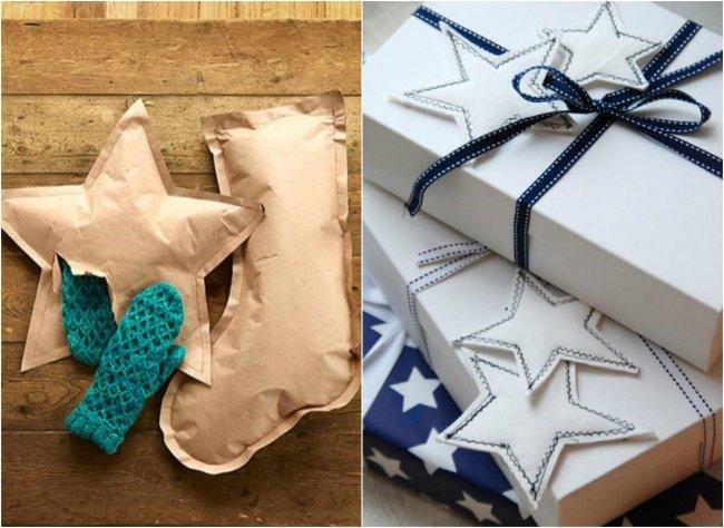 Креативная упаковка подарков на новый год