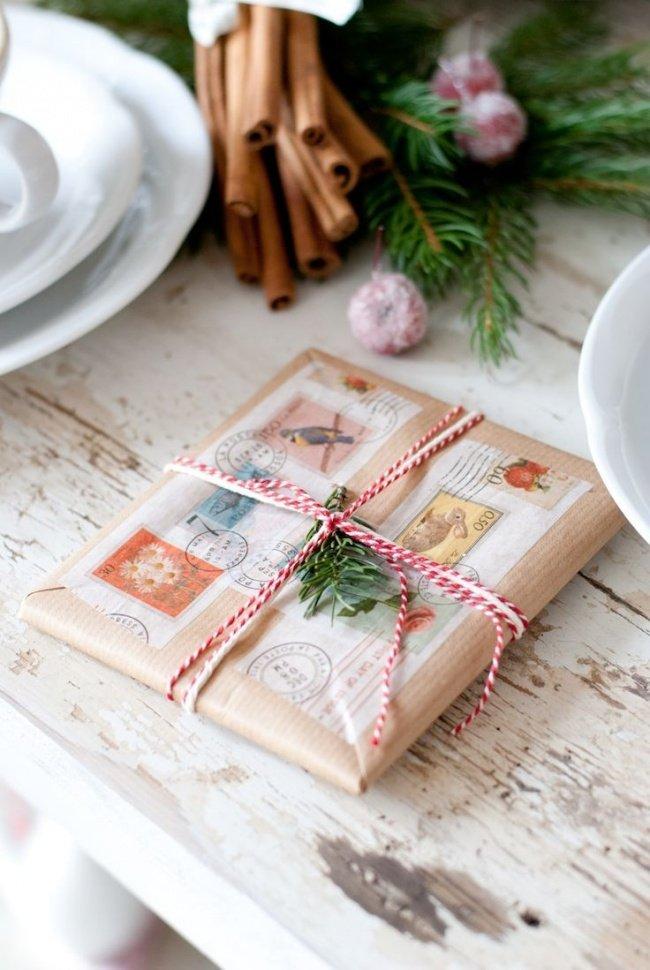 Как дед мороз упаковывает подарки