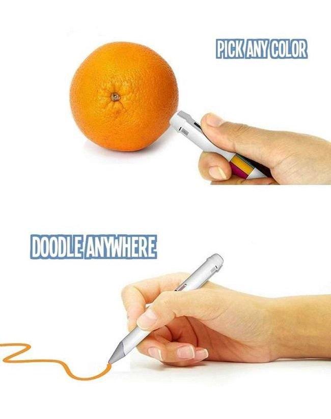 ручка, которая считывает цвет