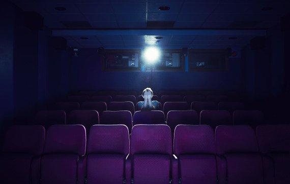 пустой кинозал