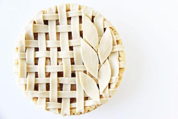 романтичный пирог