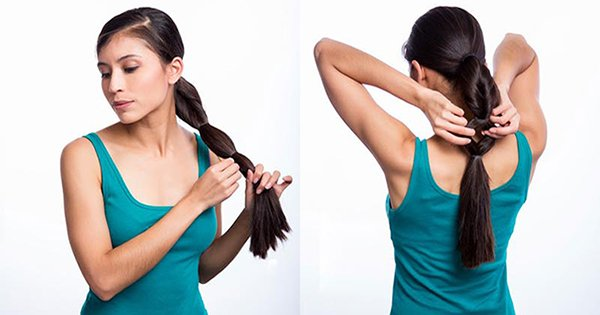 15 способов разнообразить обычный хвост или косу. Добавь изюминку своему образу!
