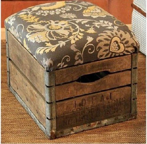 Декорируем обычный ящик Ярмарка Мастеров 30