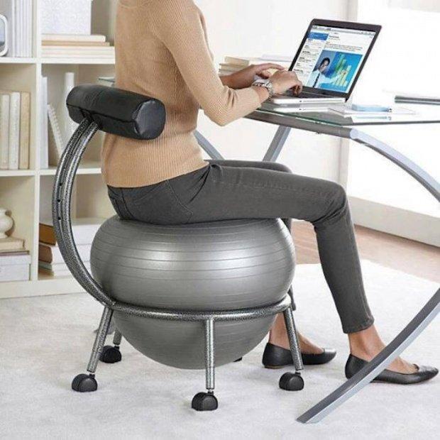 стул-шар для упражнений
