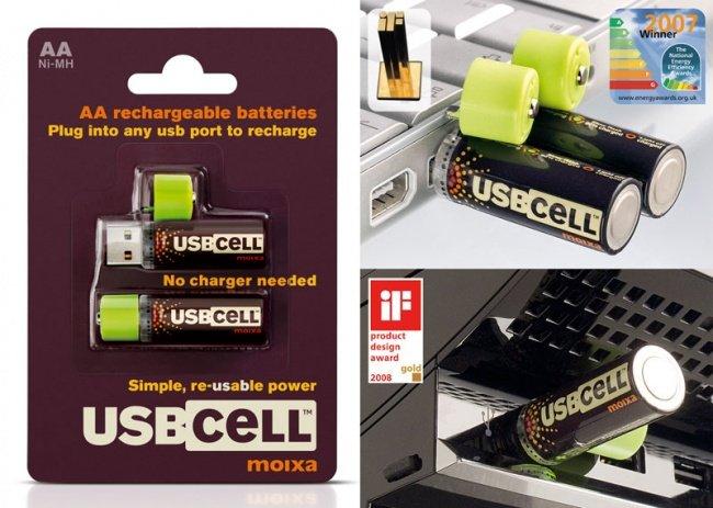 батарейки от USB