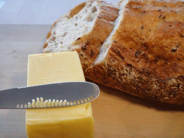 нож для смягчения масла