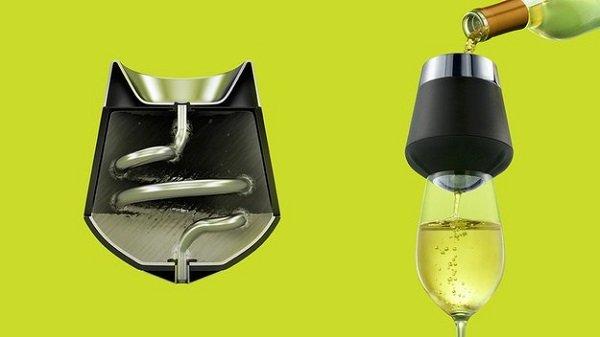 прибор для охлаждения вина
