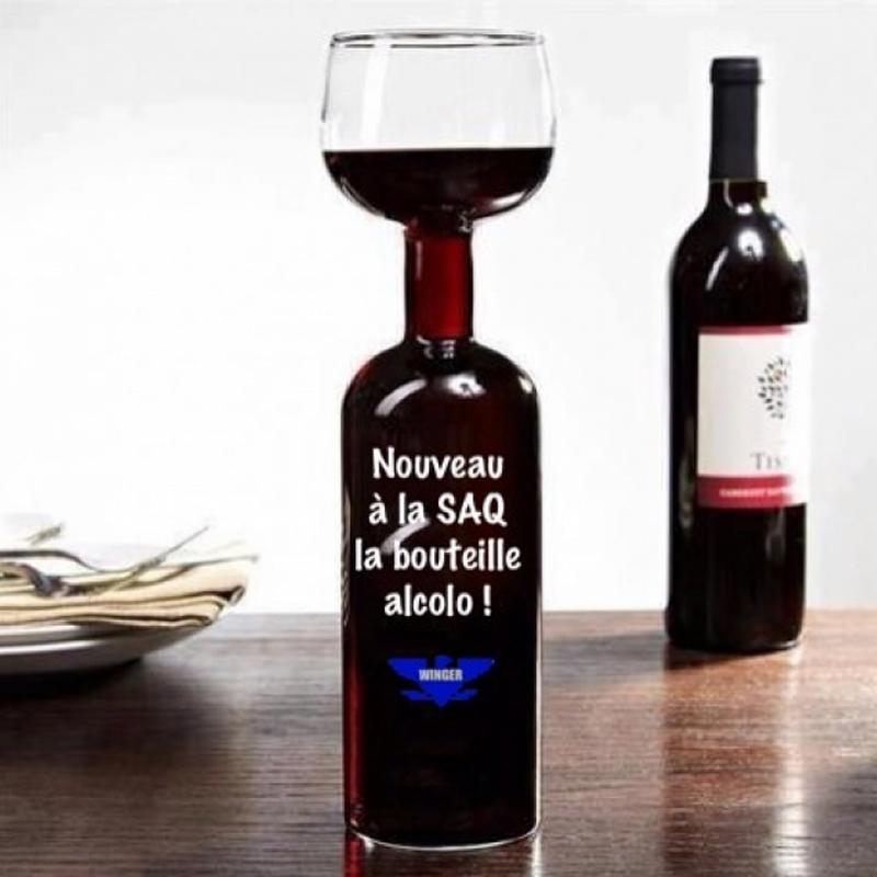 бокал-бутылка