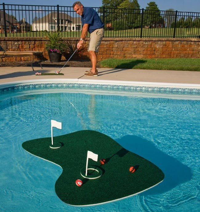 островок для гольфа