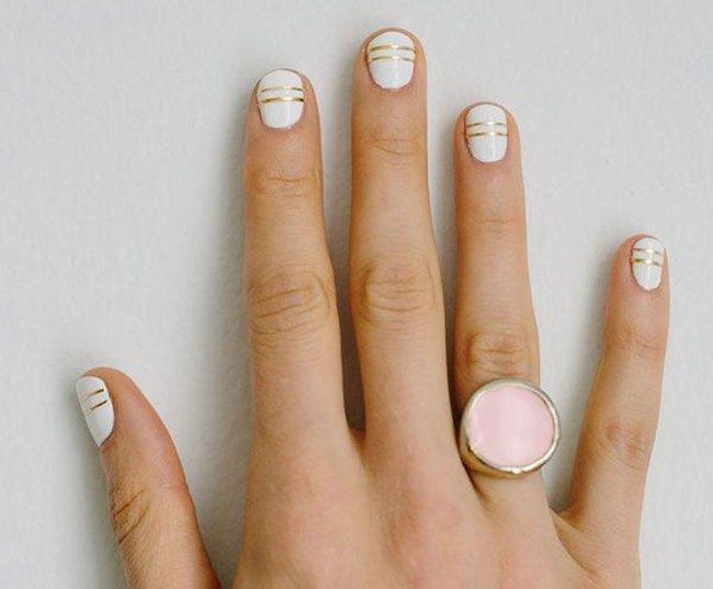 осенний дизайн ногтей