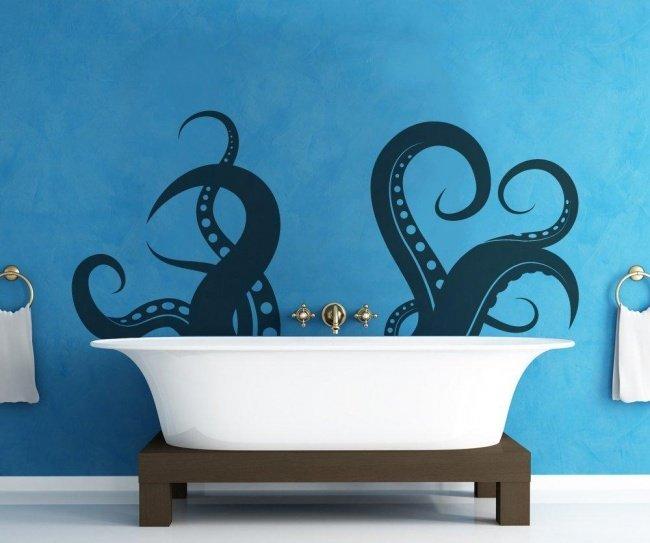 ванна с осьмиогом