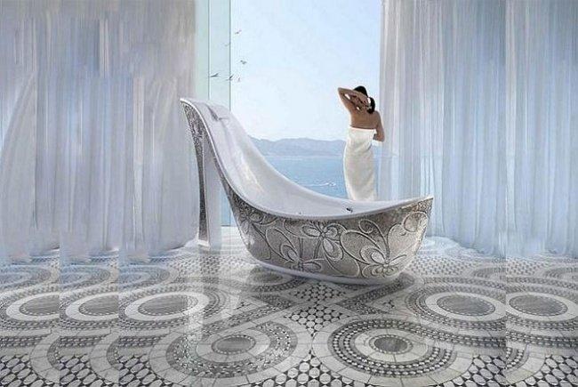 ванна-туфеька