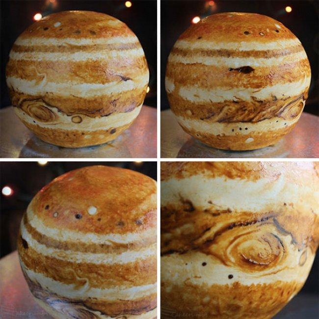 торт-планета