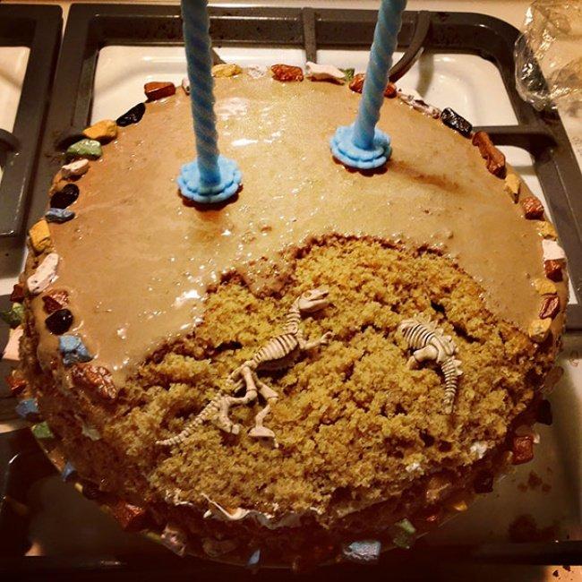 торт для палеонтолога