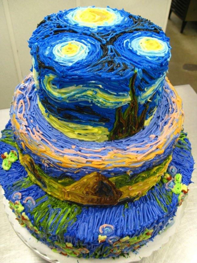 торт Ван Гога