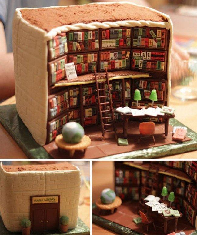 торт-библиотека