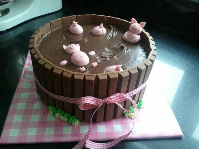 торт-свинки