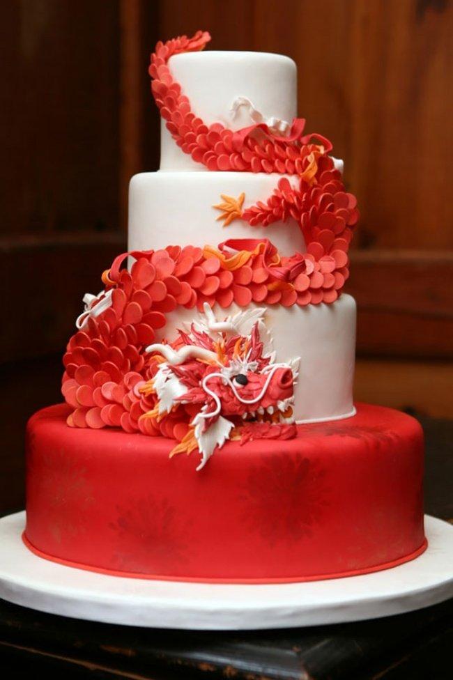 торт-дракон