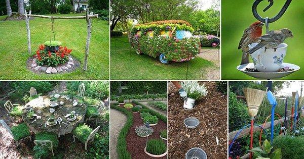25 вдохновляющих идей для сада. Создай настоящую сказку у себя дома!