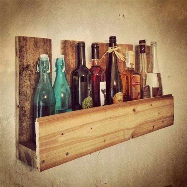 место для хранения бутылок