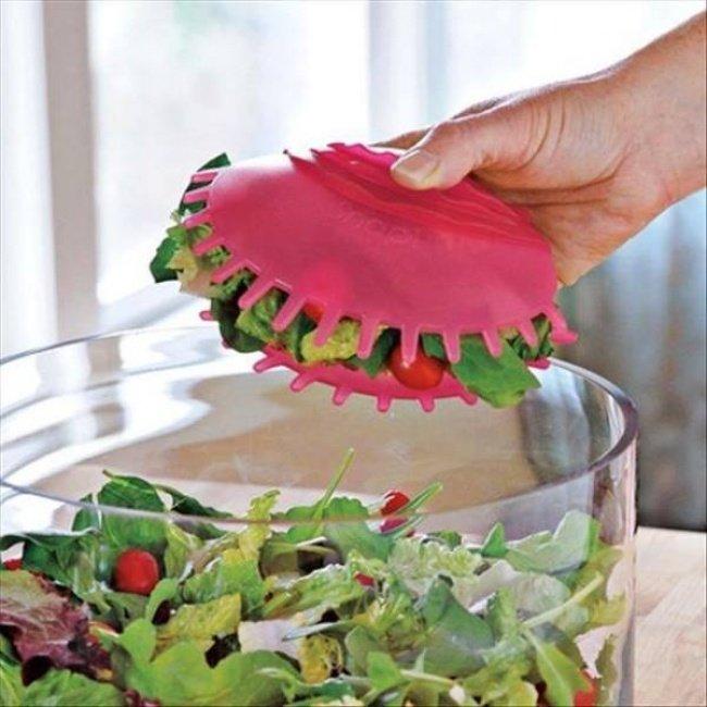 необычная ложка для салата