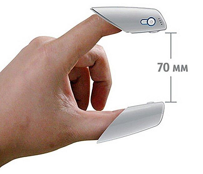 прибор для измерения расстояния пальцем