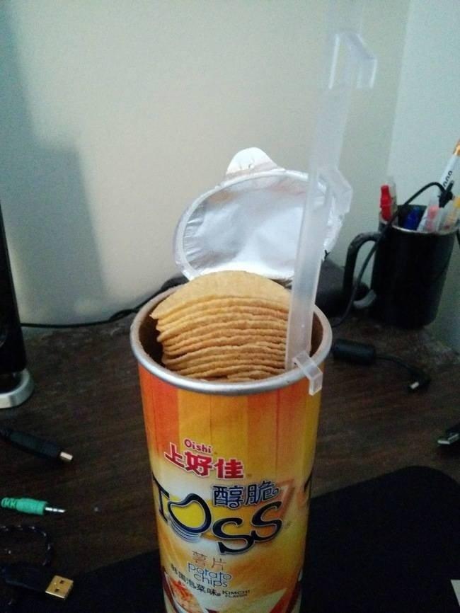 как доставать чипсы