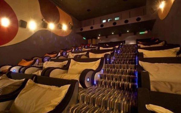 кинотеатр с подушками