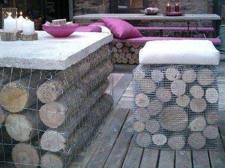 столы с дровами