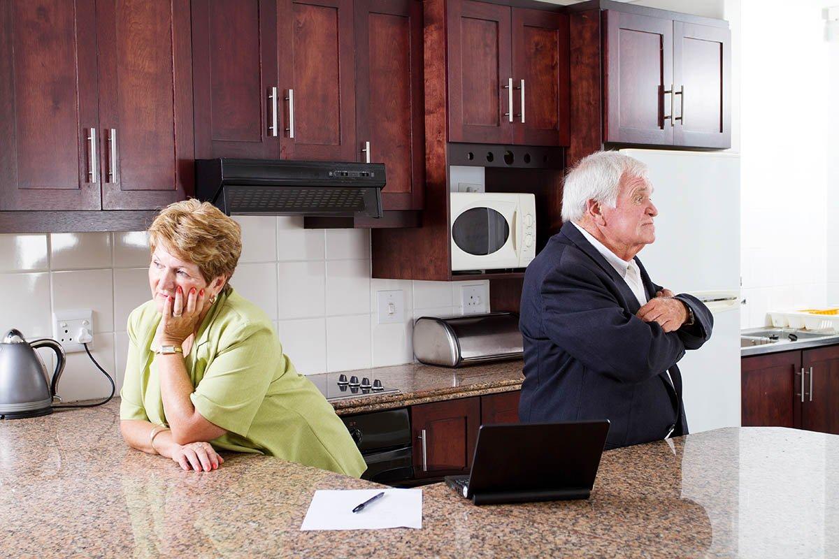 Тридцать лет живу с мужем, можем целый день молчать как рыбы