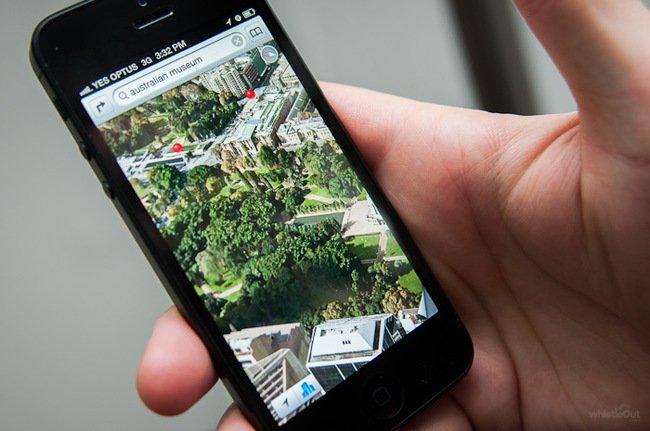GPS в мобильном телефоне