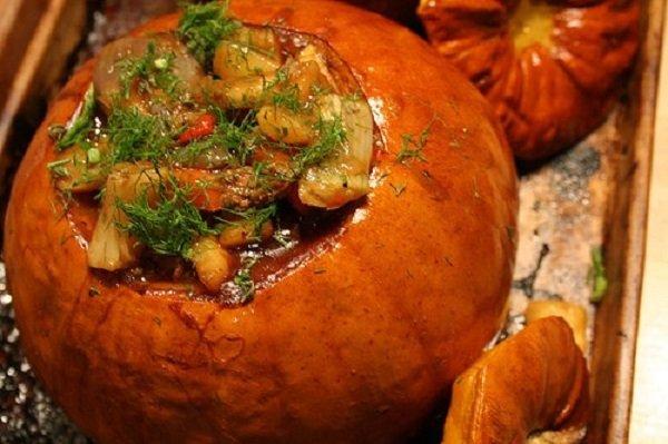 Рецепты из тыквы с мясом рецепты быстро и вкусно