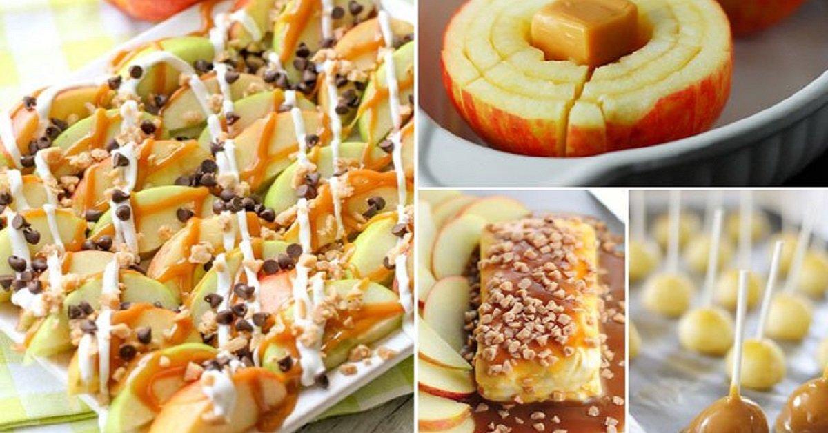 5 идеальных десертов с яблоками и карамелью. Вкус, достойный королей!