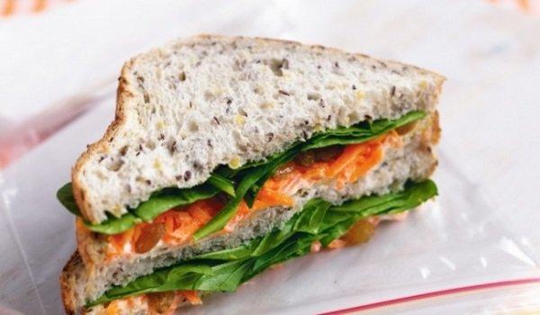 сэндвич сморковью