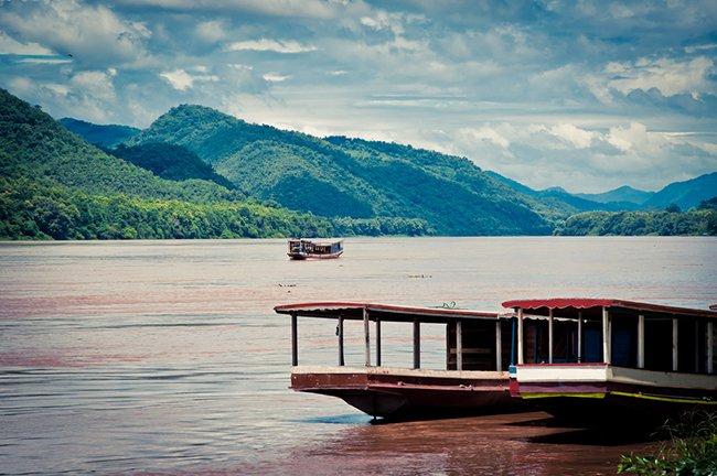 Меконг в Лаосе