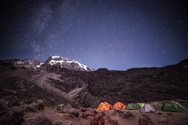 Килиманджаро в Танзании