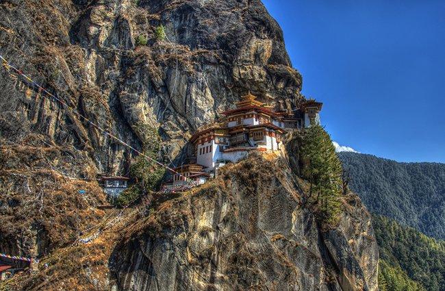 Гнездо тигра в Бутане