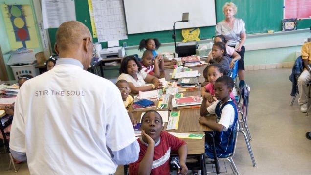 Deti v triede