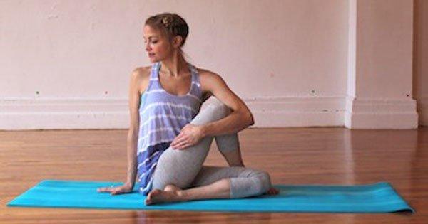 8 избранных поз йоги для шейного отдела позвоночника! Боль и напряжение сгинут, немного потянись…