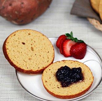 диетическая булочка Палео из сладкого картофеля